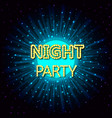 a night party on abstract vector image