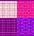 abstract repeating square pattern background vector image vector image