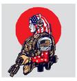 american muslim army vector image vector image