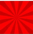 background red rays vector image