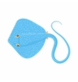 Cramp fish icon cartoon style vector image vector image