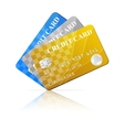 Credit Cards Set vector image vector image