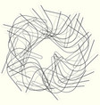 geometric circle element circle motif random edgy vector image vector image