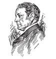 joseph hodges choate vintage vector image vector image