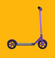 kick scooter isolated life vector image