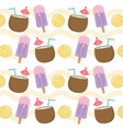 summer holiday poster pattern background vector image vector image