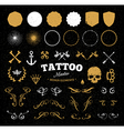 Tattoo Master Set vector image vector image