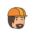 worker man cartoon vector image vector image