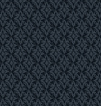 Seamless abstract dark blue retro pattern in vector image