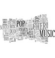 aka duos in pop music text word cloud concept vector image vector image