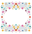 celebration fun happy frame vector image vector image