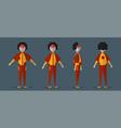 character design of joker ghost for halloween day vector image vector image