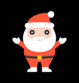 cute santa claus for christmas vector image vector image