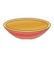 dish mexican classic icon vector image