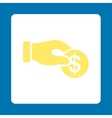 Donation icon vector image vector image