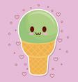 ice cream design vector image vector image