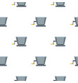 metal retro juicer or grinder pattern flat vector image vector image