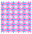 pink-blue geometric seamless pattern image vector image