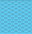 Seamless Honeycomb Hexagon Background Pattern vector image