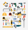 set of tools for repair vector image vector image