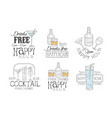 set original promotion signs vector image