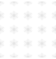 Snowflakes background in light gray colors vector image vector image