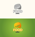 The logo of Indian food vector image vector image