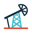 tower oil industry icon vector image
