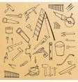 sketch tools vector image