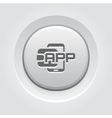 Flat Digital Wallet APP concept vector image vector image