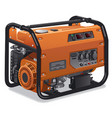 immovable power generator vector image vector image