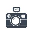 photo presentation glyph icon vector image vector image