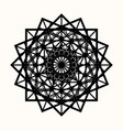 sacred geometry 0087 vector image vector image