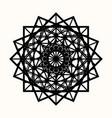 sacred geometry 0087 vector image