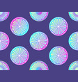 seamless citrus with purple and pink gradient vector image vector image