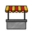store kiosk icon image vector image vector image