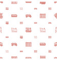 train icons pattern seamless white background vector image vector image