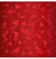 Valentine day with heart vector image