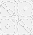 Wavy lines on light gray seamless vector image