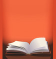 magic book background vector image