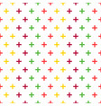 geometric seamless pattern for use as wrapping vector image vector image
