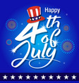 independence day of united states of america back vector image vector image