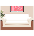 Lounge Coach Background vector image vector image