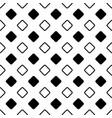 seamless abstract black and white diagonal vector image vector image