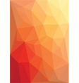abstract red low poly vector image
