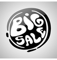 Big Sale Badge vector image vector image