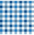 blue gingham mix seamless pattern vector image vector image