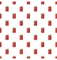 canned fruit compote or jam pattern vector image