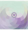 lilac spiral background vector image