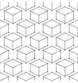 Modern Seamless Geometric Pattern Dot With vector image vector image